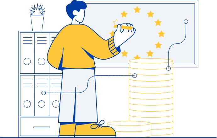 performer illustrazione pa fondi europei